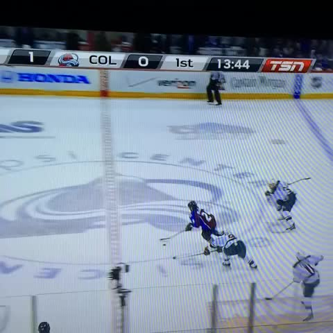 jordancarp79s post on Vine - Nathan Mackinnon highlight reel goal! Breaks Spurgeons ankles 😱 - jordancarp79s post on Vine