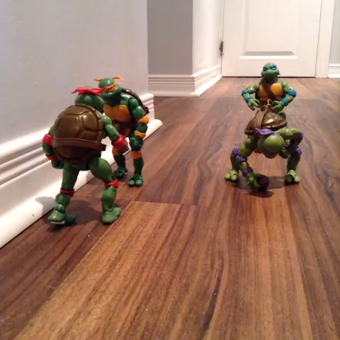 Ben Grants post on Vine - Ninja Turtle Football. #StopMotion #Football - Ben Grants post on Vine