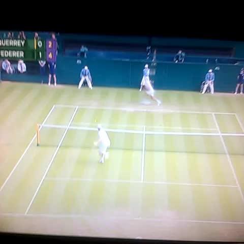 Vine by Bradley Cates - Take a bow, Roger Federer!
