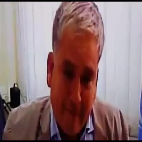 UN representative was being interviewed about the Israeli genocide when he was unable to continue & broke down in tears #GazaUnderAttack - Minas post on Vine