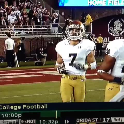 Steves post on Vine - Will Fuller reps Philly his hometown. Notre Dame - Steves post on Vine