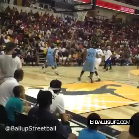 Ballislifes post on Vine - Bone Collector spins his defender around with a crossover #ballup #ballislife #crossover - Ballislifes post on Vine