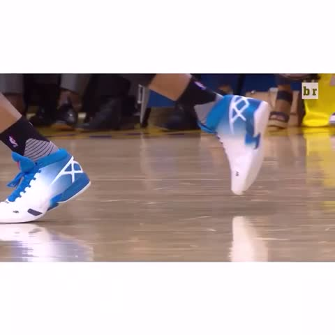 Vine by Bleacher Report - Russ with the cross!