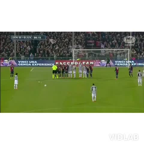 alan_02s post on Vine - andrea pirlo the king of freekick.what do you think of his freekick?#juventus #freekick #pirlo #Vidlab - alan_02s post on Vine