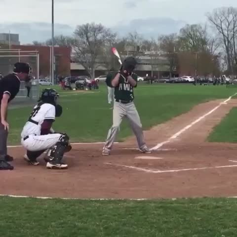 Vine by House of Highlights (Official) - He took a fastball to the head! ???? (via Tylerfromschool/Twitter)