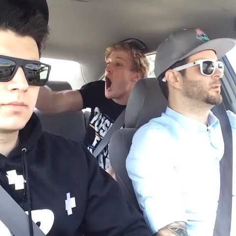 Logan Pauls post on Vine - That one friend on road trips ... w/ Curtis Lepore & Christian DelGrosso (extended version on Instagram: LoganPaul) - Logan Pauls post on Vine