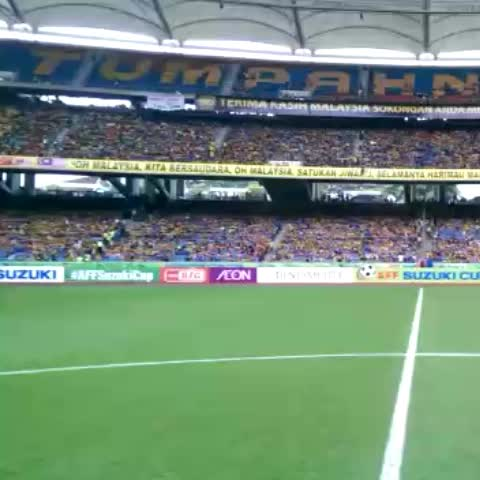 Bukit Jalil is filling up 2hrs before kick off! #AFFSUZUKICUP - Vine by AFF Suzuki Cup - Bukit Jalil is filling up 2hrs before kick off! #AFFSUZUKICUP