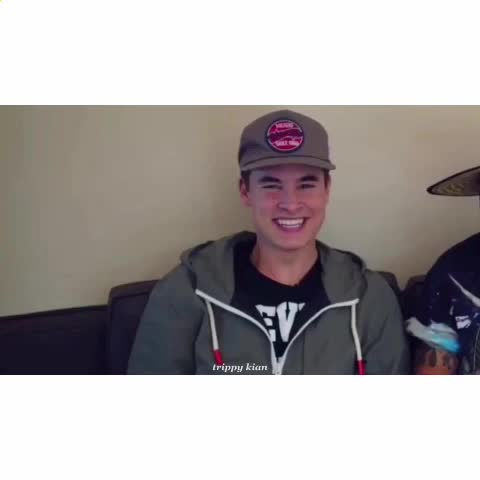 Vine by trippy kian - Kian is adora --- oh sh*t ib: woah cam