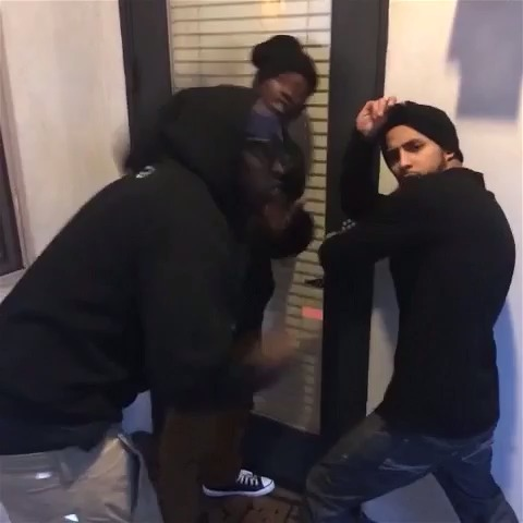 DeStorm Powers post on Vine - If robbers took selfies. w/ MAX JR, Anwar Jibawi, Wuz Good, Lara Sebastian #letmetakeaselfie - DeStorm Powers post on Vine