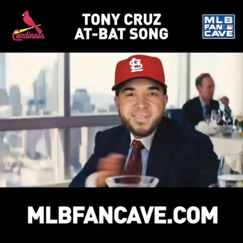 MLB Fan Caves post on Vine - Tony Cruzs at-bat song is outstanding. #cardinals - MLB Fan Caves post on Vine