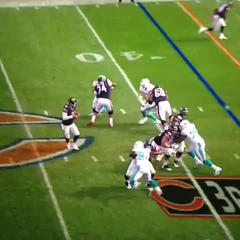 """Jay Cutler: """"Thats where it had to go."""" - Adam Hoges post on Vine"""