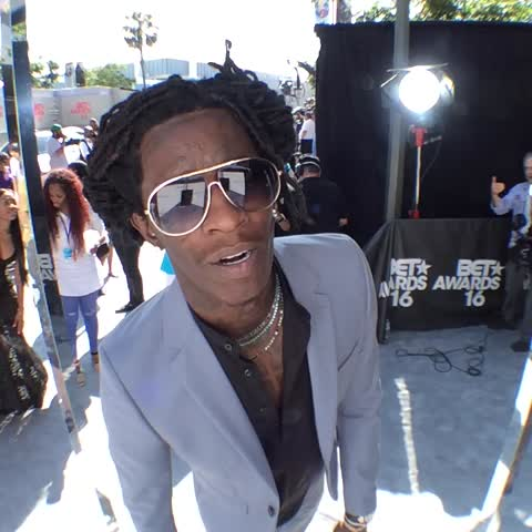 Vine by BET Awards - #GetThatGlam with @youngthug at #BETAwards 2016