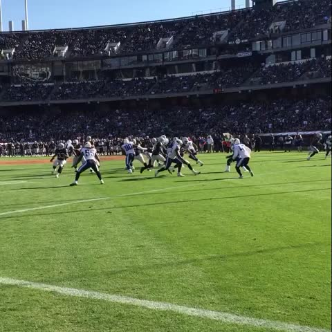 Vine by OAKLAND RAIDERS - The rookie. End zone.
