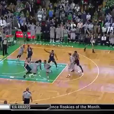 Vine by NBA TV - Tyler Zeller wins it at the buzzer for the @Celtics!