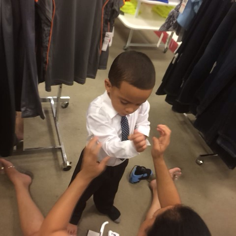 lol his grandmother getting him ready for graduation tomorrow ????#hititfromtheback - Hanz Solos post on Vine