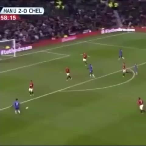 Vine by Soccer Obsession - Hazard with curler into side netting. #ManU #chelseafc #futbol #soccer #amazing #hazard