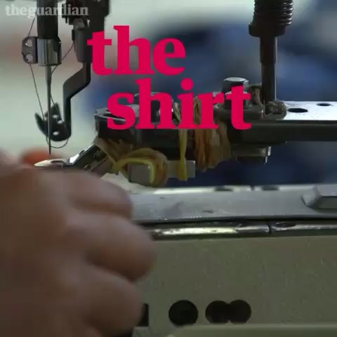 How did the clothes youre wearing get to you? Guardian journalists trace the life cycle of the #shirtonyourback http://bit.ly/1iZ8X2P - The Guardians post on Vine