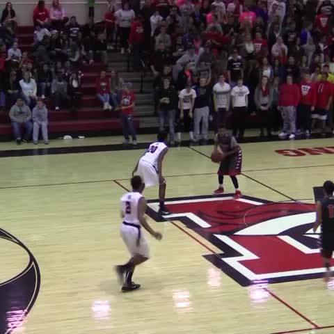 Vine by PrepHoopsOK - Dunk of the week nominee: Mustang 2018 G Ashton Jones with the one handed slam in the first round of regionals #OKPreps