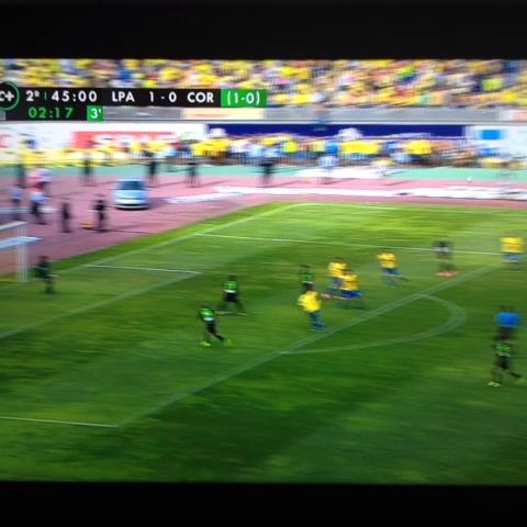 Tosepowers post on Vine - El gol que mete al Córdoba en Primera. Enhorabuena @laligaennumeros - Tosepowers post on Vine