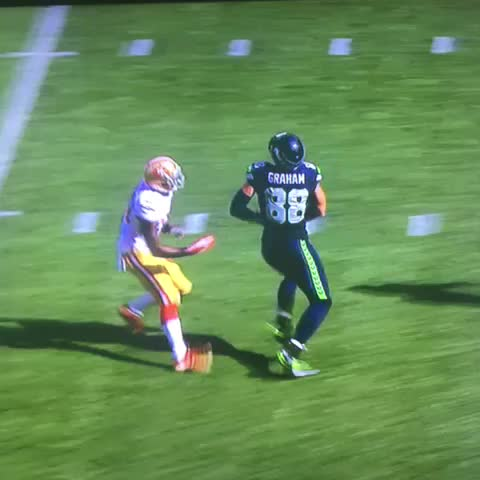 """Watch Michael Gallagher's Vine """"Man's catch from Jimmy Graham."""""""