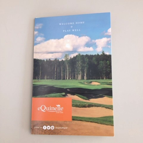 Our new scorecards, featuring a classic look are now available (you've probably seen them at the course already!) What do you think?  http://vine.co/v/MtxvuVQdIT7