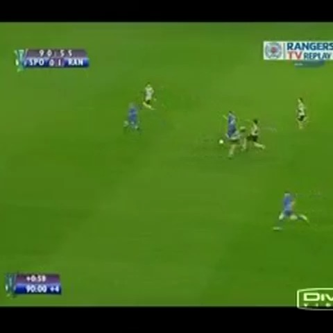 Vine by Glagow Rangers Vines - Steven Whittakers fantastic solo goal vs Sporting Lisbon in the Uefa Cup 2008