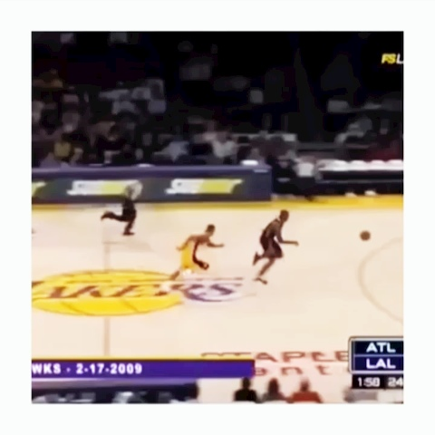 Get Hypes post on Vine - [Video Not Mine] Shannon Brown woth a NAAASSTTYY block.  #nba #block #basketball - Get Hypes post on Vine