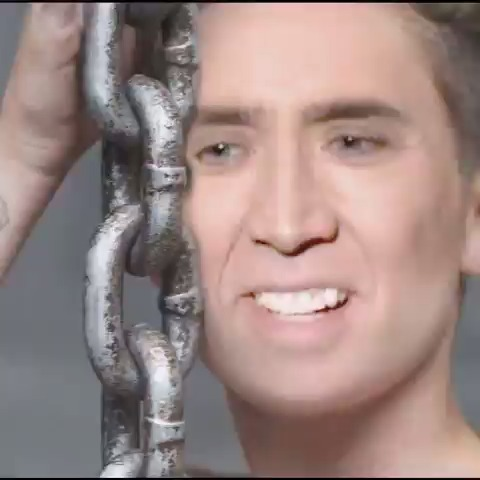 Nicolas Cage in Wrecking ball!!