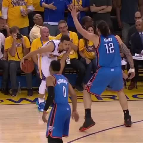 Vine by NBA - Curry dances on em on NBA on TNT! #NBAVine