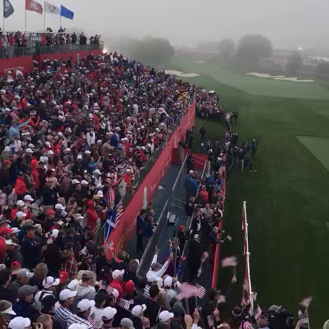 Vine by Ryder Cup USA - God Bless America!