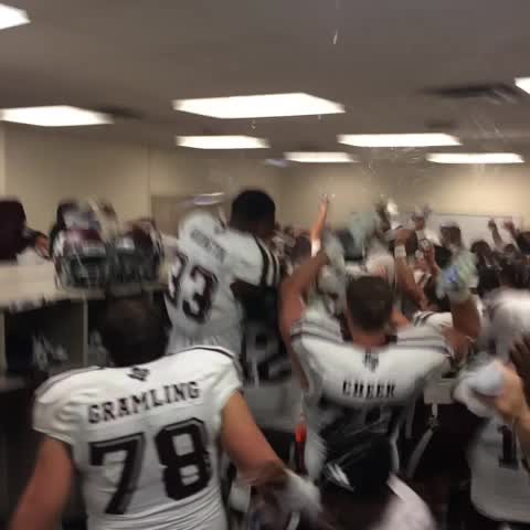 Post Auburn Locker Room Celebration Good Bull Hunting