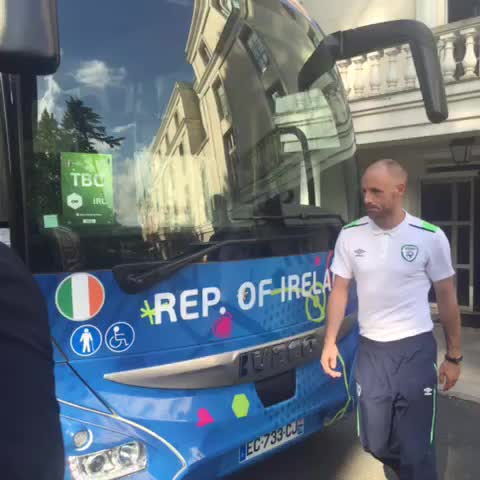 Vine by FAIreland - Lyon, we are on our way! #COYBIG