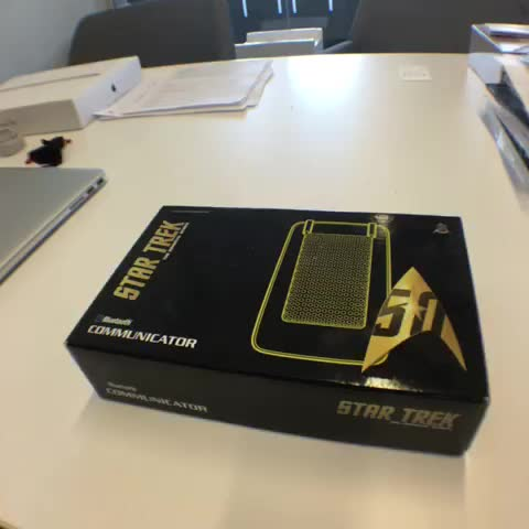 Star Trek communicator replica is worthy of the Enterprise
