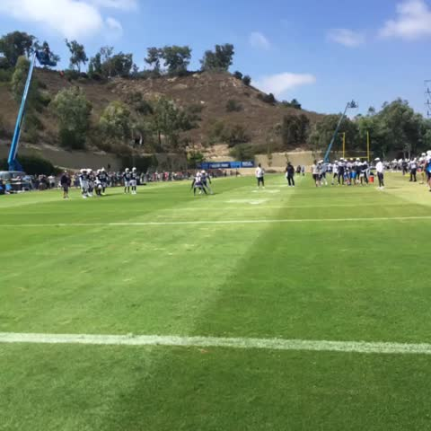 Watch San Diego Chargers S Vine Quot Flowers In Coverage