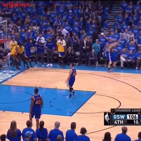 Vine by The Cauldron - Steph Curry Holds Up 7