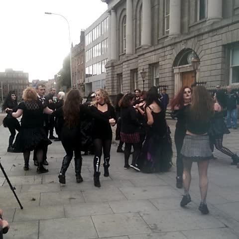 Theres the Goths #bitemedublin - Darragh Doyles post on Vine