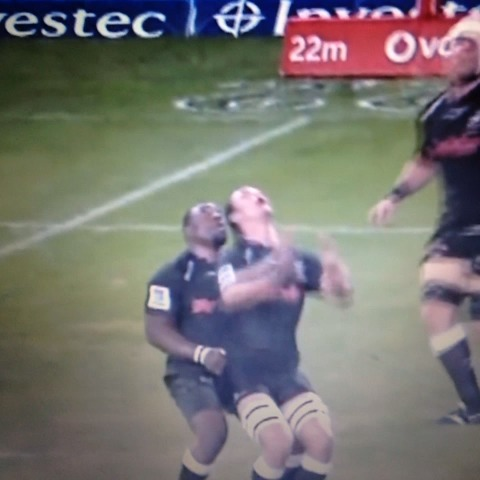 "Mike Vaughans post on Vine - Tendai ""The Beast"" Mtawarira sustained Anton Bresler - Mike Vaughans post on Vine"