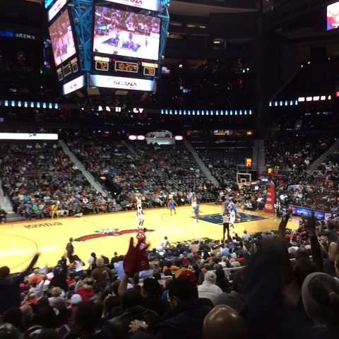 Atlanta Hawks #ATLvsOKC Lets go Hawks!! - Nathan Nicoaras post on Vine