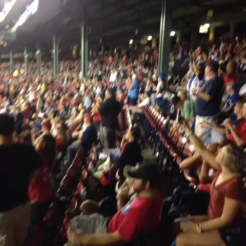 Nothing like an electric rendition of Sweet Caroline when youre down 13..kill yourself Fenway - Barstool Sports -Sales Guys post on Vine