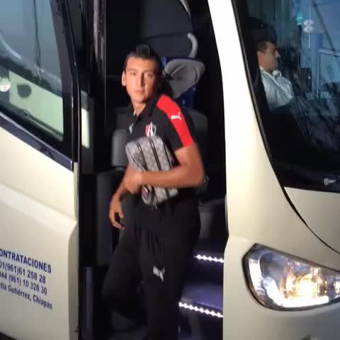 Vine by Atlas F.C. - ¡La Furia ya está en el Estadio Víctor Manuel Reyna!
