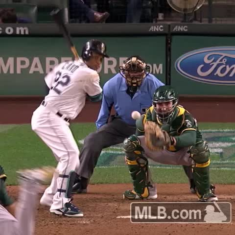 Vine by Seattle Mariners - It isnt a CaNó-doubter without the mic drop. #YesWeCano