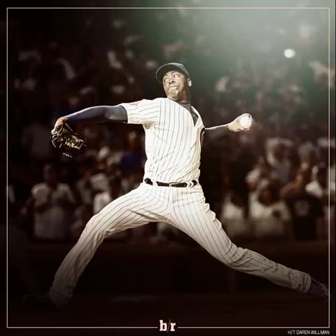 Vine by Bleacher Report - Aroldis Chapman brought the 🔥 last night