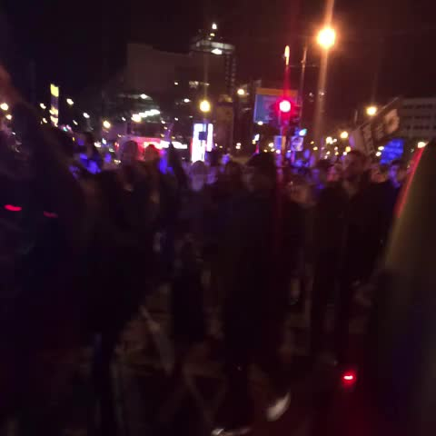 John Atwaters post on Vine - Protesters trying to make another entrance into the highway #wcvb - John Atwaters post on Vine