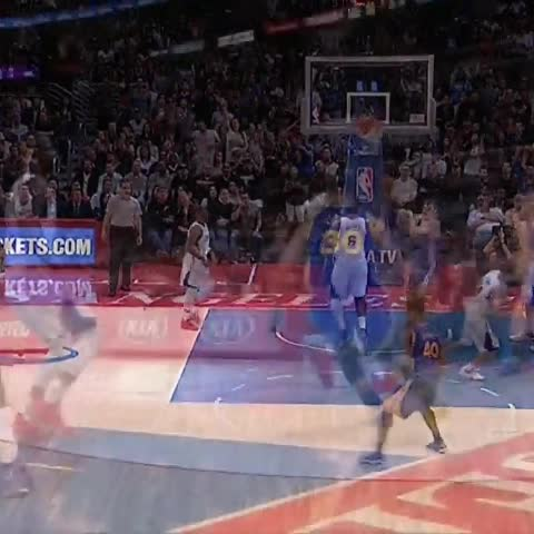 Vine by NBA on TNT - Down goes CP3! Ice those ankles.