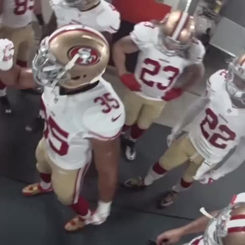 """Yall know what time it is..."" #SNF #BeatTheBroncos - 49erss post on Vine"