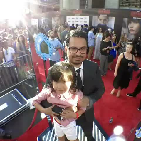 Vine by Ant-Man - Live from Marvels #AntMan premiere with @realmichaelpena!