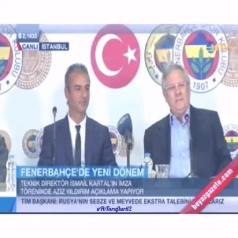 Vine by FBtaraftari12 - Başarı İsmail Hocanın, Başarısılık Aziz Yıldırım ve Yönetiminindir.