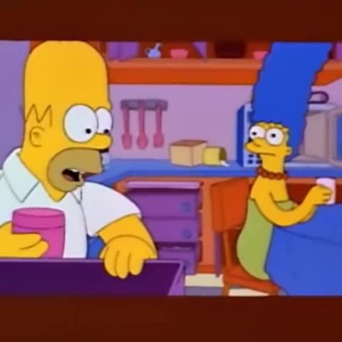 Lo Mejor De Los Simpsonss post on Vine - Marge, ¿Donde está esa cosa...? #LosSimpsons #Mejoresmomentos - Lo Mejor De Los Simpsonss post on Vine