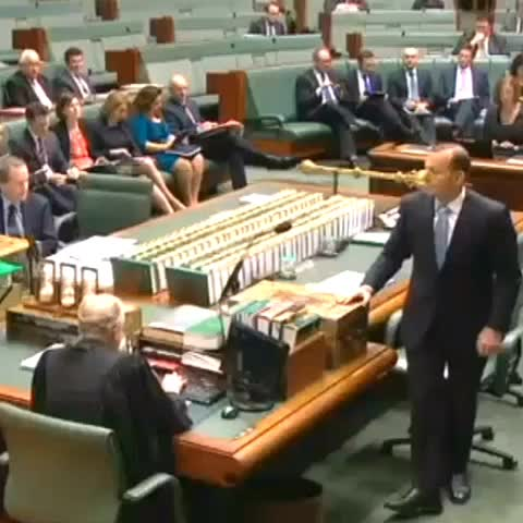 "ABC Newss post on Vine - ""Youre irrelevant"", Govt tells Opposition during Question Time. - ABC Newss post on Vine"