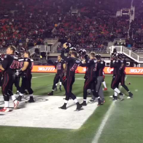 Ottawa REDBLACKSs post on Vine - Our players salute you, #RNation! - Ottawa REDBLACKSs post on Vine